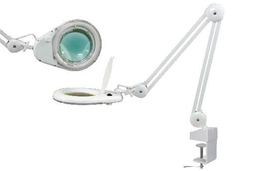 Бестеневая лампа с увеличительной линзой L-66 (3 диоптрии)